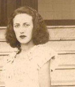 Vovó em foto de 1951.