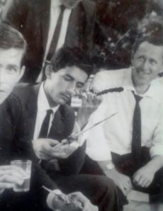 Nos anos 60, na equipe de segurança da primeira dama do estado